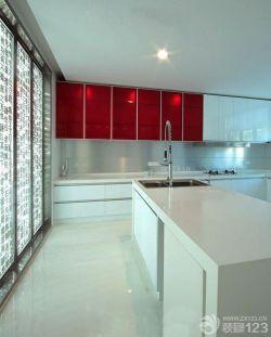 125平米現代風格家居廚房實景圖