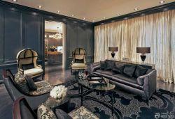 東南亞風格客廳多人沙發裝修圖片