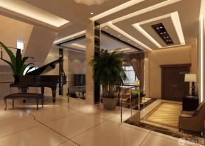 现代家居 米白色地砖 天花板设计