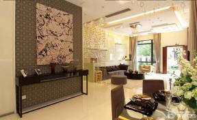 150平米 時尚混搭風格餐廳 泛白色地磚