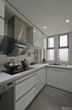 120平米現代中式風格廚房櫥柜效果圖