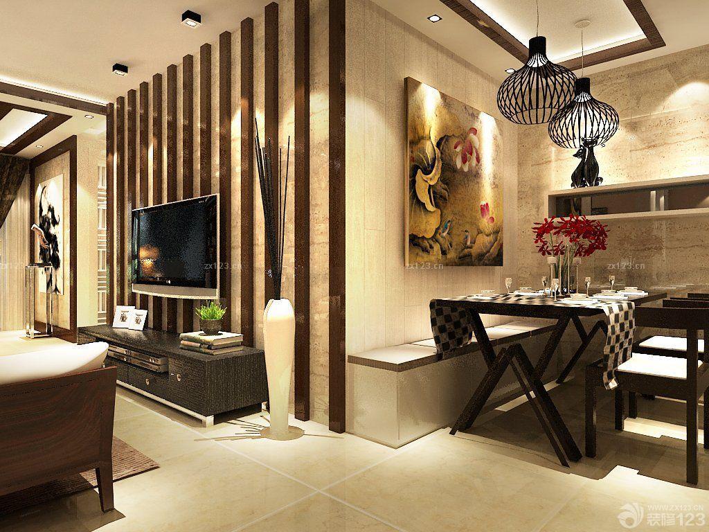 100平米餐厅客厅隔断设计图片