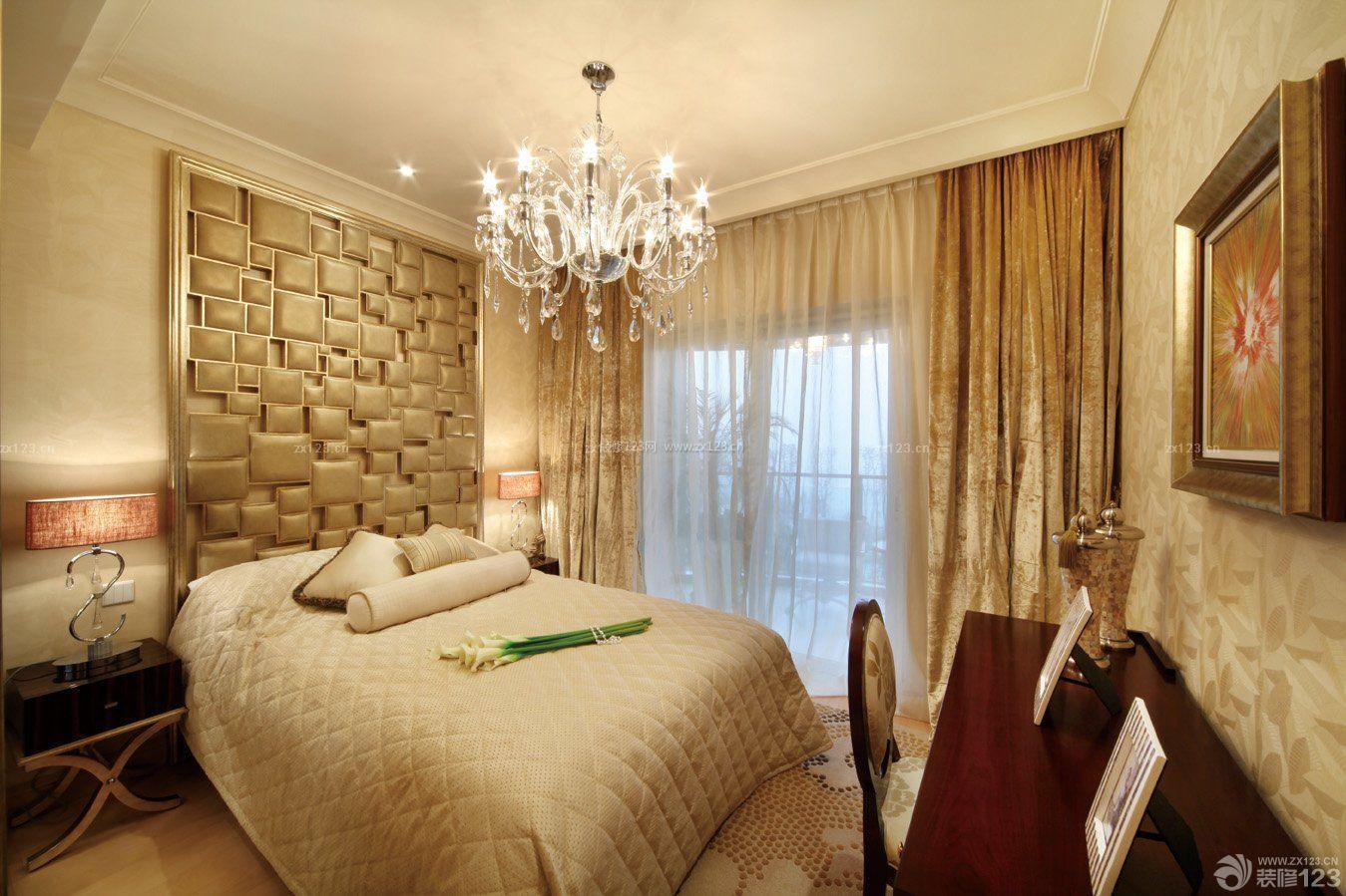 欧式小房间窗帘装修效果图片