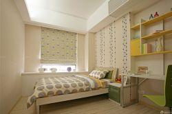 100平米兒童房設計卡通壁紙效果圖