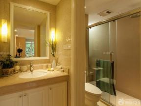 80平方米 裝修混搭風格 衛生間洗手盆圖片