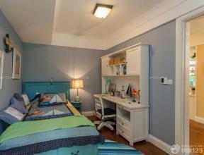 80平方米 時尚混搭風格 臥室裝修效果圖大全 單人床