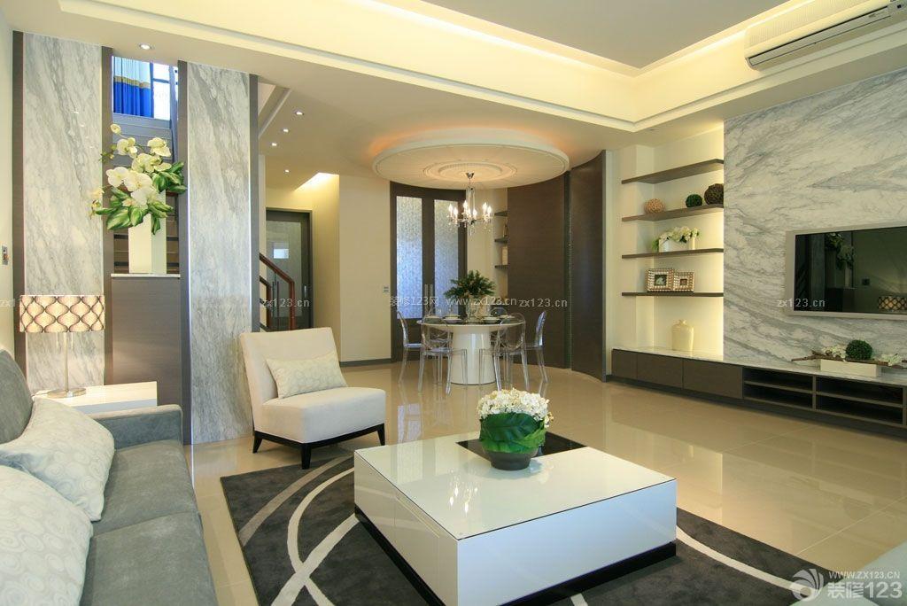 110平米房屋客厅装修效果图大全