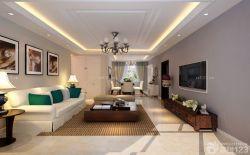 客廳裝飾木質茶幾設計圖
