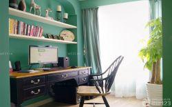 書房墻面置物架設計圖