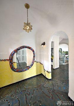 最新地中海風格拱形門洞門框造型設計效果圖