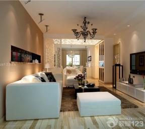 現代簡約風格 客廳裝修設計 小戶型電視墻設計