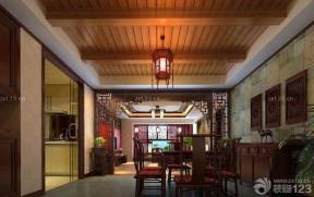 家庭中式 餐厅设计