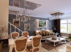 80平米房子 小户型餐桌图片