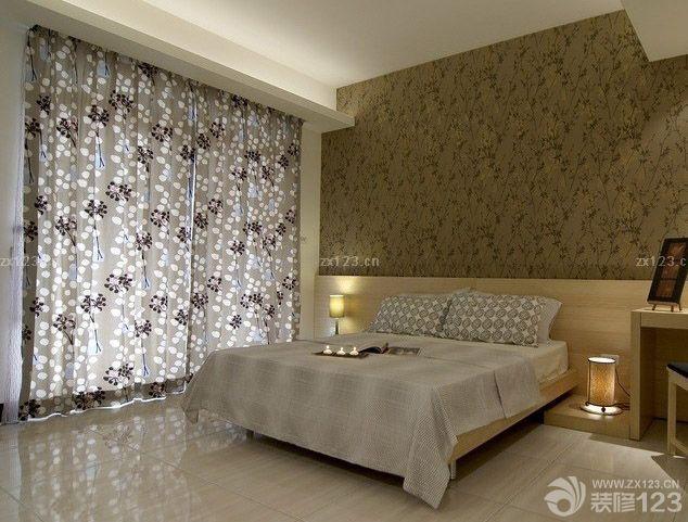 小户型新中式阳台改卧室装修效果图图片