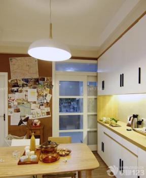 40平米一室一厅小户型 厨房餐厅一体