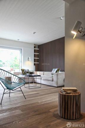 40平米一室一厅小户型 不吊顶的客厅