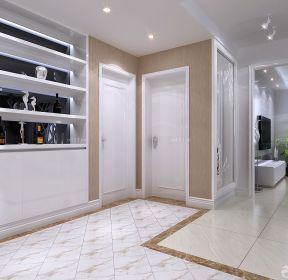 效果图 1872 小户型客厅酒柜设计案例 1324 时尚小户型隔断酒柜设计