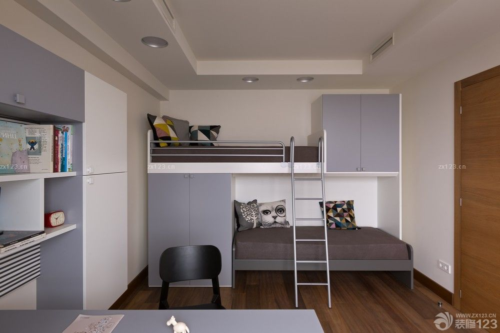 小户型次卧装修设计儿童房