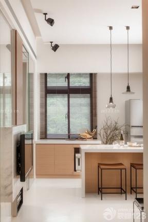 簡裝小戶型 極簡風格裝修效果圖 小戶型陽臺改廚房