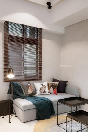小戶型歐式沙發圖片 小戶型窗臺 現代風格窗簾效果圖