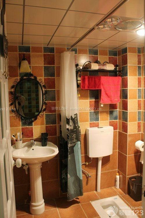 小户型卫生间洗手间设计图