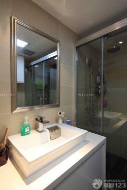 酒店式公寓小戶型洗手間裝修
