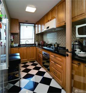 小戶型陽臺改廚房 小戶型節省空間裝修圖