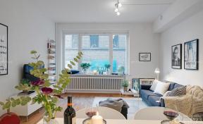 50平小户型装修案例 中小户型装修图片 简约风格客厅