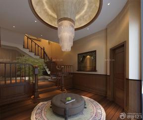樓梯間 中式風格設計