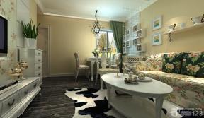 田園風格設計 客廳裝飾