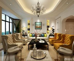 客廳裝潢設計效果圖 家庭客廳裝修效果圖