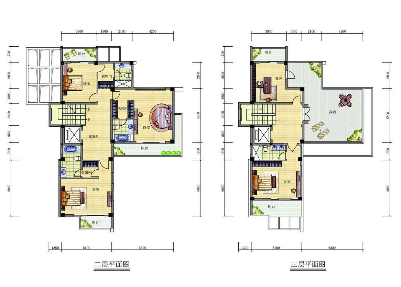 现代欧式50多平米小户型房屋卧室设计图