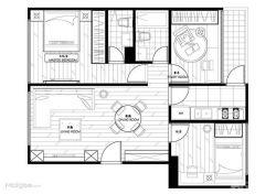 最新120平方房子設計圖
