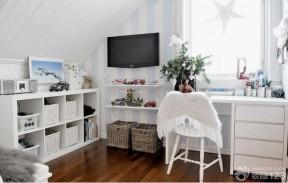 一室一廳房子裝修圖  暖色調裝修小戶型