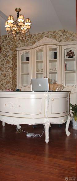 書房書柜電腦桌圖片