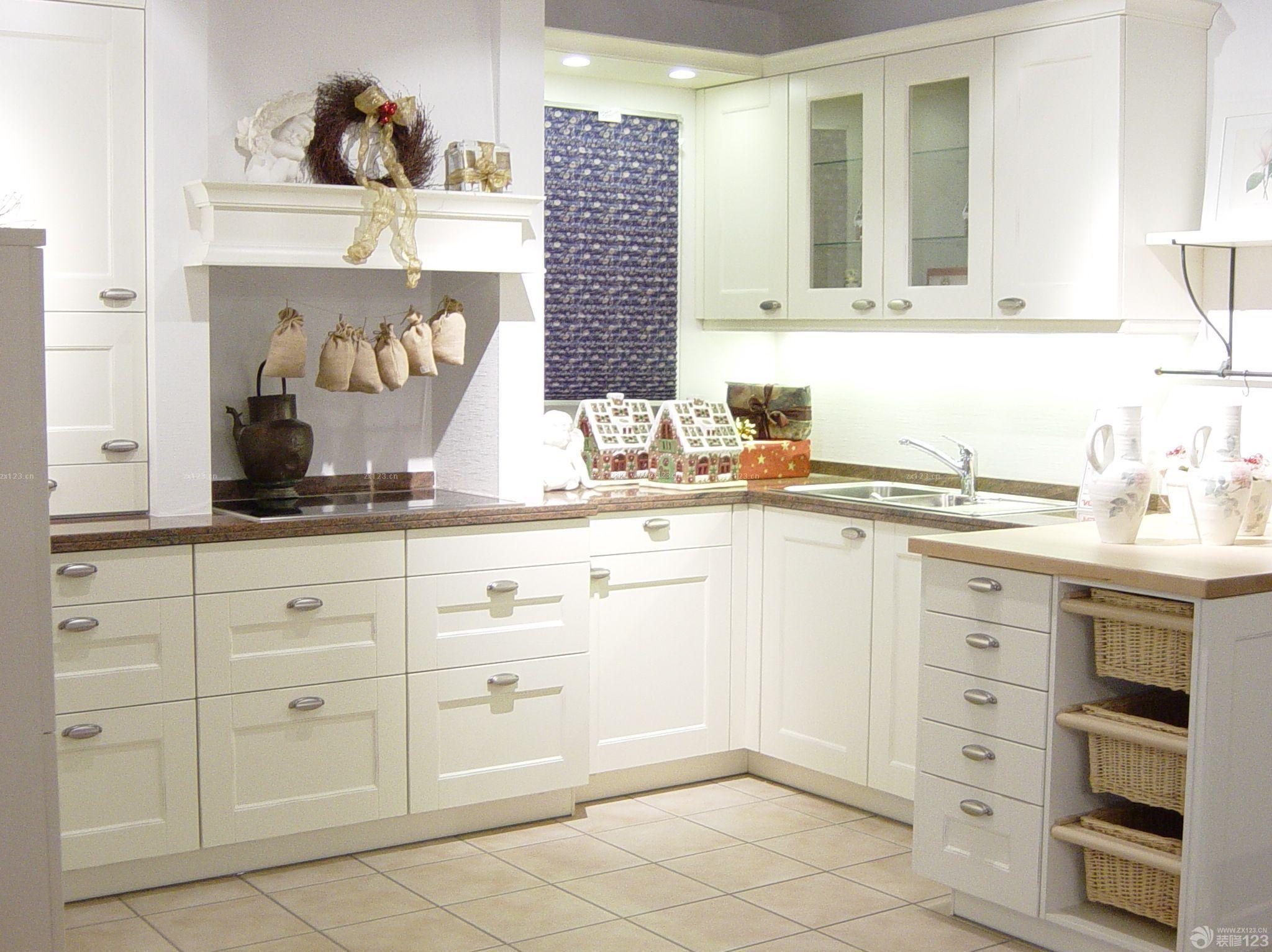 小户型5平米厨房橱柜效果图_装修123效果图