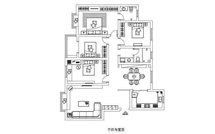 144平米农村房屋设计图图片