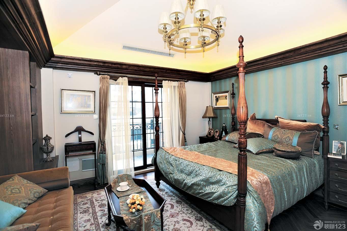 长方形卧室设计装修图