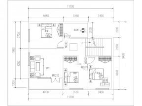 四層別墅戶型圖
