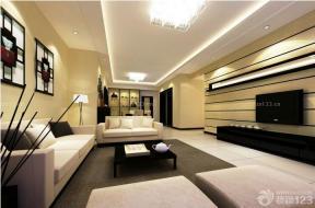 一室家裝設計 現代簡約小戶型客廳
