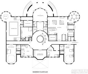 二層獨棟別墅戶型圖 150平米戶型圖