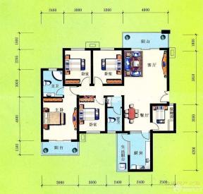 二層獨棟別墅戶型圖 100平米別墅戶型圖