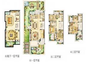 四房戶型圖