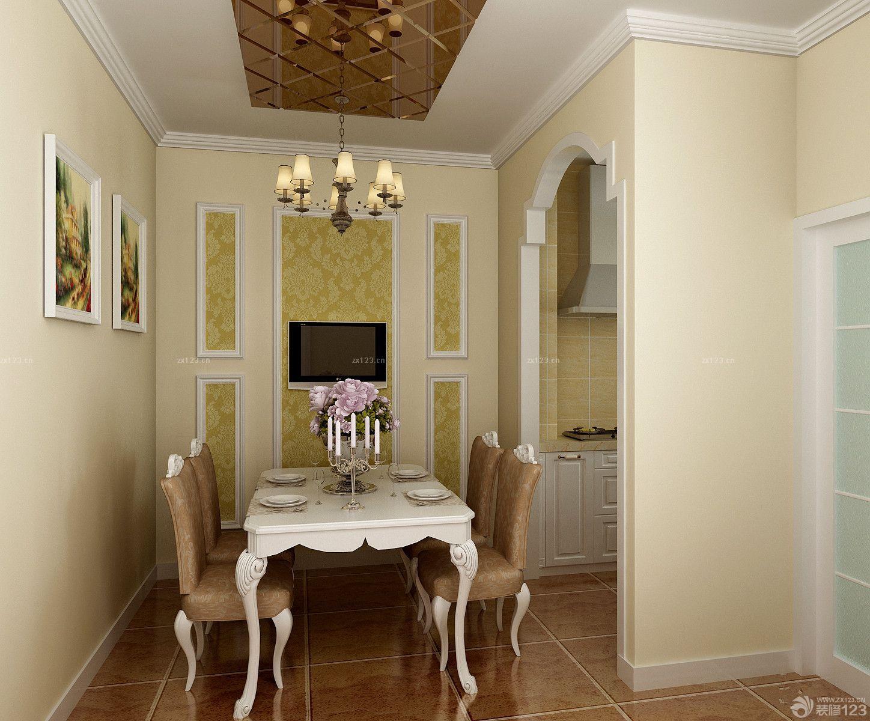 交换空间二室一厅小户型欧式装修效果图