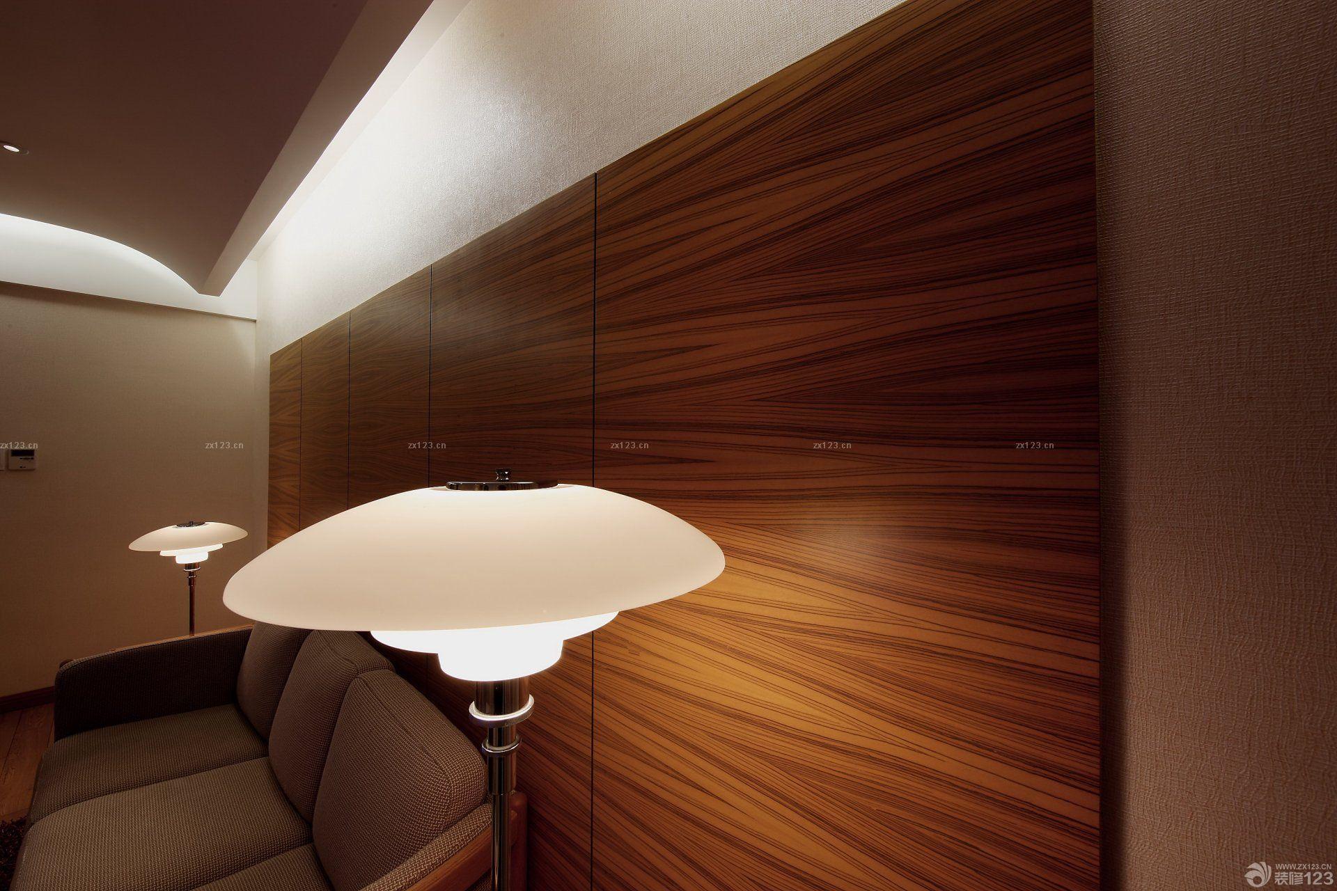 经典室内墙面木饰面板装饰图片_装修123效果图
