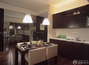 80平房子裝修設計圖 餐廳設計