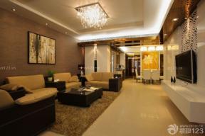 一室一廳小戶型簡裝裝修圖 客廳裝飾
