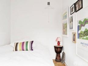 一室一廳臥室裝修圖 簡歐風格小戶型