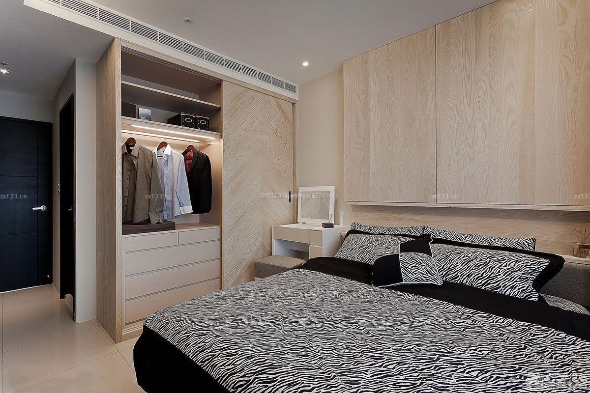 单间小户型衣柜装修效果图