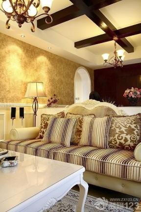 小戶型客廳墻面顏色 小戶型客廳壁紙